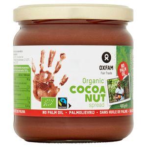Oxfam Fair Trade Organic Cocoa Nut Spread 400 g
