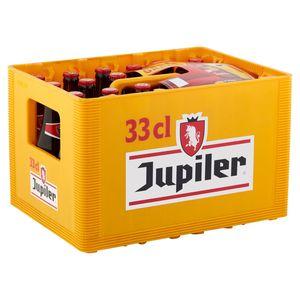 Jupiler Belgische Pils Krat 24 x 33 cl 18+6 Gratis