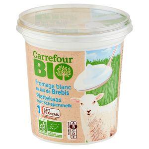 Carrefour Bio Fromage Blanc au Lait de Brebis 400 g